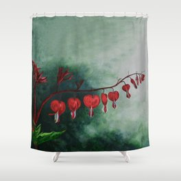 Every Heart Leads to Heaven by Teresa Thompson Shower Curtain