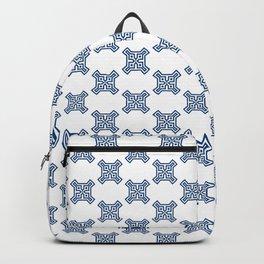 Santorini Pattern Eleven Backpack