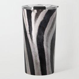 Zebra stripes Travel Mug