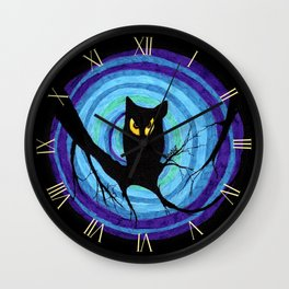 time for child stories: the EVIL OWL Wall Clock