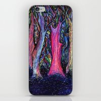 the shining iPhone & iPod Skins featuring Shining forest by ShaMiLa