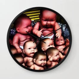 Infantile Take-over Wall Clock