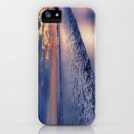 Peace of Mind Cayucos Beach iPhone Case