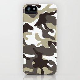 Urban Camo Camouflage Pattern iPhone Case