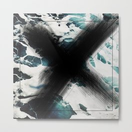 x marks the spot {ocean} Metal Print