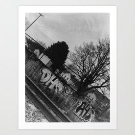 Vandalism 2 Art Print
