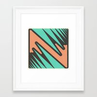 vendetta Framed Art Prints featuring vendetta by Celery Woulise