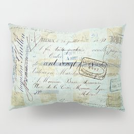 carnet de chèques Pillow Sham