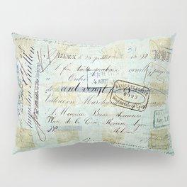 carnet de chèques Pillow Sham