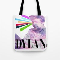 dylan Tote Bags featuring Dylan by Coyvan