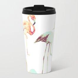 Flamingo Formation #society6 Travel Mug