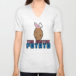 Easter Potato Unisex V-Neck