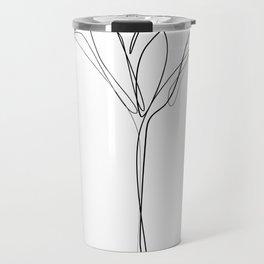 """Botanical Collection"" - Tulip Flower Print Travel Mug"