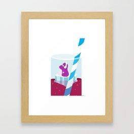 Refresh Framed Art Print
