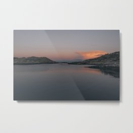 Sunrise in Norway Metal Print
