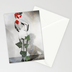 belle plante (beautiful flower) Stationery Cards