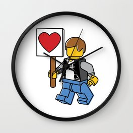 Love Parade Wall Clock