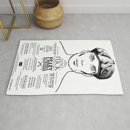 Tom Shelby  Ink'd Series Rug