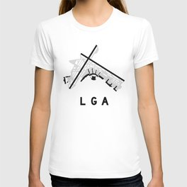 LGA Airport Diagram T-shirt