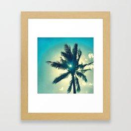 Seventh Palm Framed Art Print