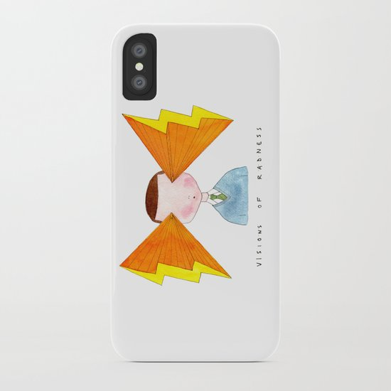 visions of radness iPhone Case