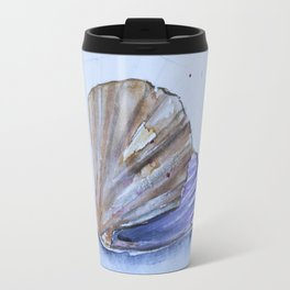 The great scallop - Pecten maximus Travel Mug
