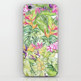 Tropical Garden 1A #society6 iPhone Skin