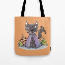 Cute Halloween Cat Tote Bag