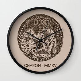 Charon Sketch Wall Clock