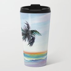 Be Back At Sunset Metal Travel Mug
