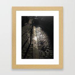 Street In Paris Framed Art Print