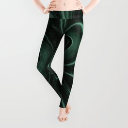 Patterns of malachite gem Leggings