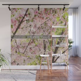 Spring Court Wall Mural