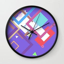 Random Art One Wall Clock