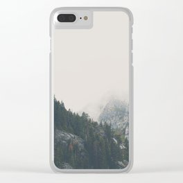 The power of imagination makes us infinite. Clear iPhone Case