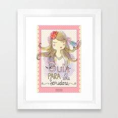 Guide for Dreamers / Guía para el alma soñadora Framed Art Print