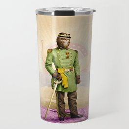 General Simian of the Glorious Banana Republic Travel Mug
