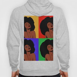 Natural Afro Pop Art Hoody