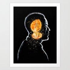 LEMONHEAD Art Print