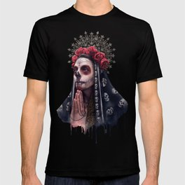 """Katrina"" - Skull girl T-shirt"