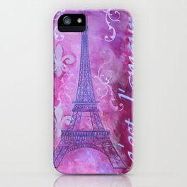 It's Love iPhone Case
