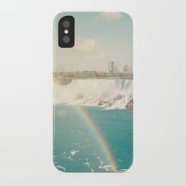 Niagara Falls - View of Buffalo, New York iPhone Case