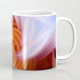 Heaven And Hell Light Fibers Coffee Mug