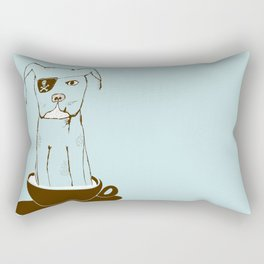 Tcup Dawg Rectangular Pillow