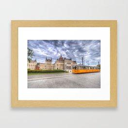 Parliament Of Budapest Framed Art Print