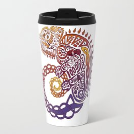 Celtic Chameleon Travel Mug