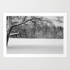 Winters Reach - A Snow Landscape Art Print