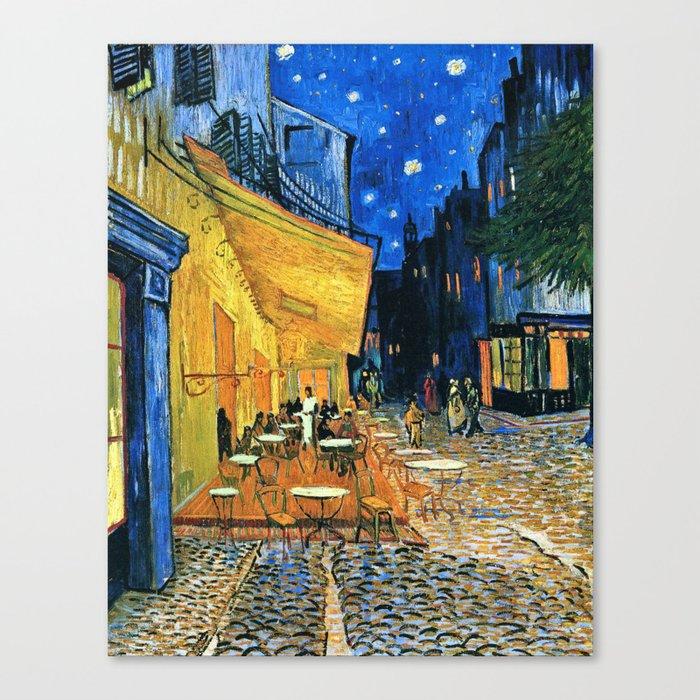 Vincent Van Gogh - Cafe Terrace at Night Leinwanddruck