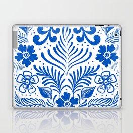 Mexican Folk Floral Ornaments Laptop & iPad Skin