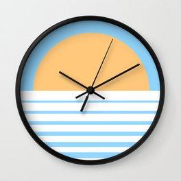 Tropical Sun Wall Clock